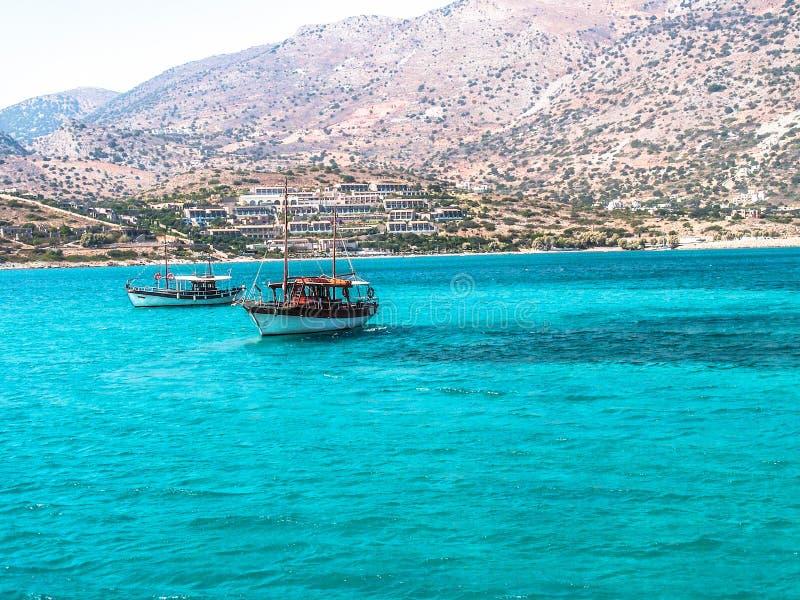 希腊海岛-克利特 库存图片