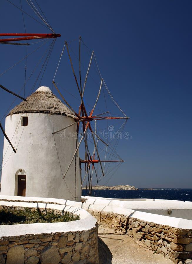 希腊海岛mykonos 免版税库存照片