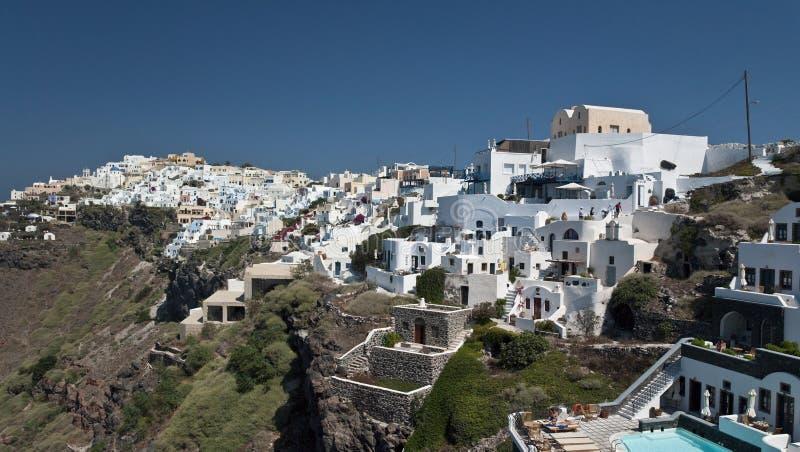 希腊海岛santorini 免版税图库摄影