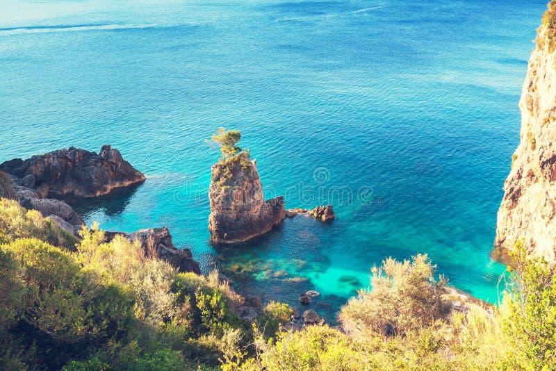 希腊海岸 库存图片