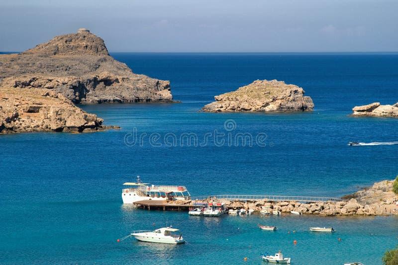 希腊海运 库存照片