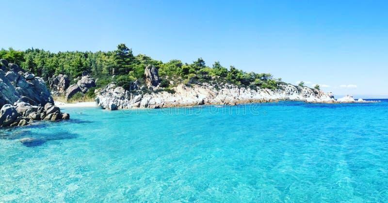 希腊海运 免版税库存图片