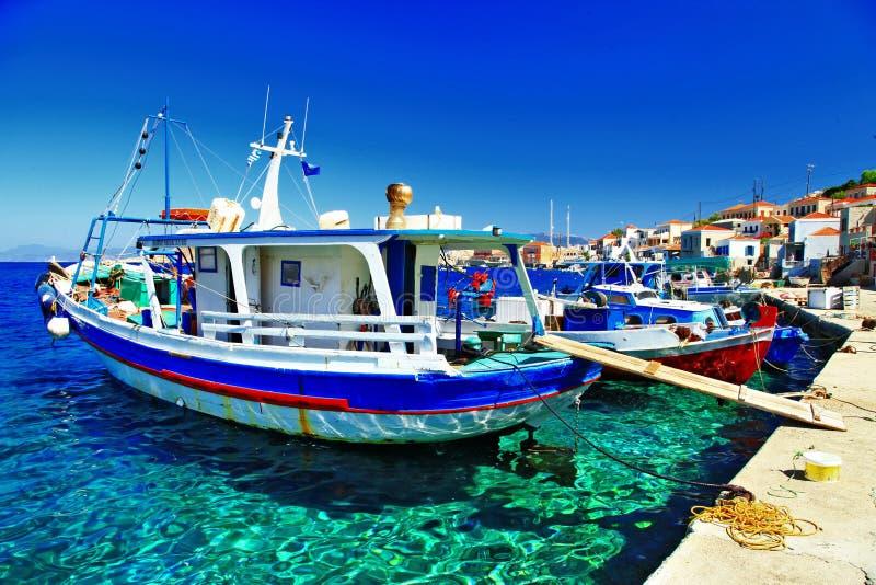 希腊的颜色 免版税图库摄影