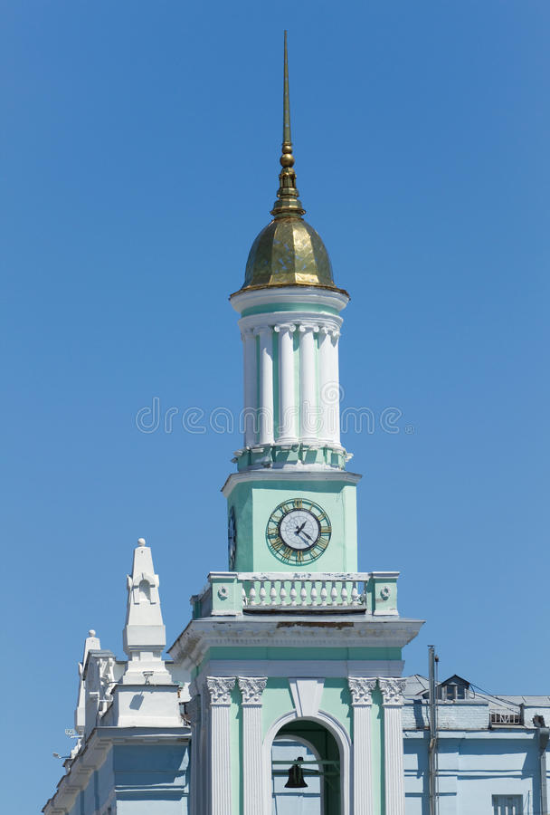 希腊语圣徒凯瑟琳天主教在基辅。 库存图片