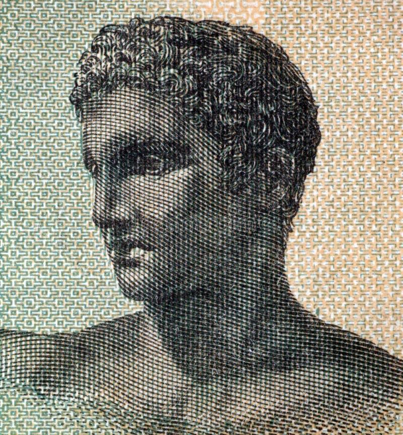 希腊语少年 图库摄影