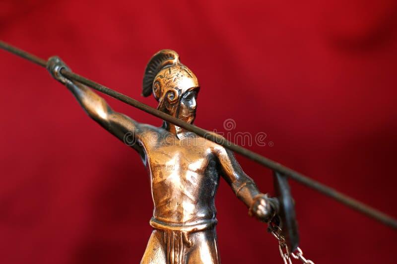 希腊语战士 免版税库存照片