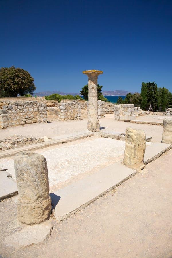 希腊语房子 库存照片