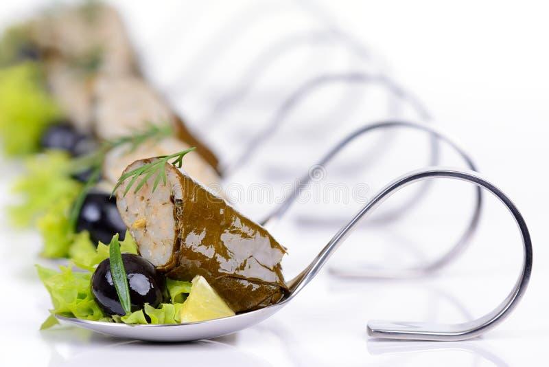 希腊语的开胃菜 库存图片