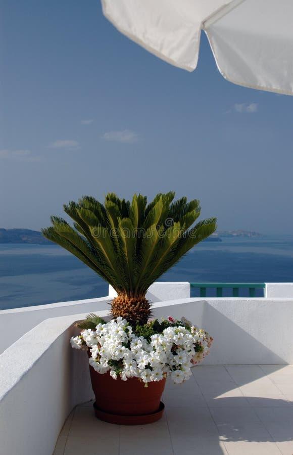 希腊难以置信的海岛 图库摄影