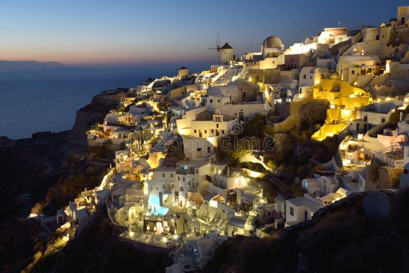 希腊,圣托里尼, Oia 库存照片