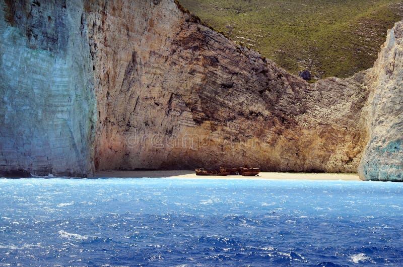 希腊,扎金索斯州 图库摄影