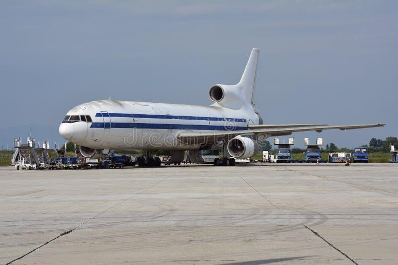 希腊,航空器 免版税图库摄影