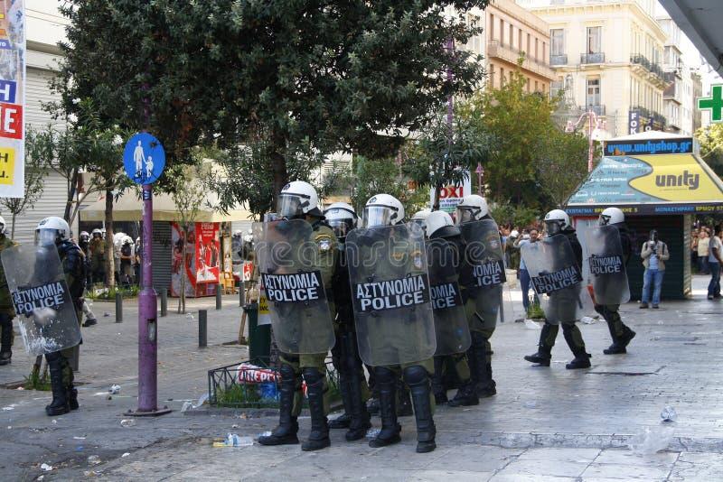 希腊,雅典, 2012年10月18日 图库摄影