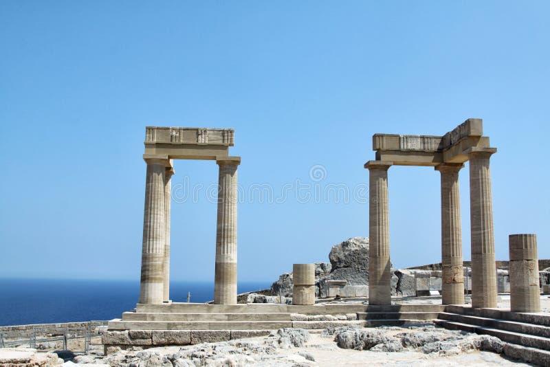 希腊建筑学 图库摄影