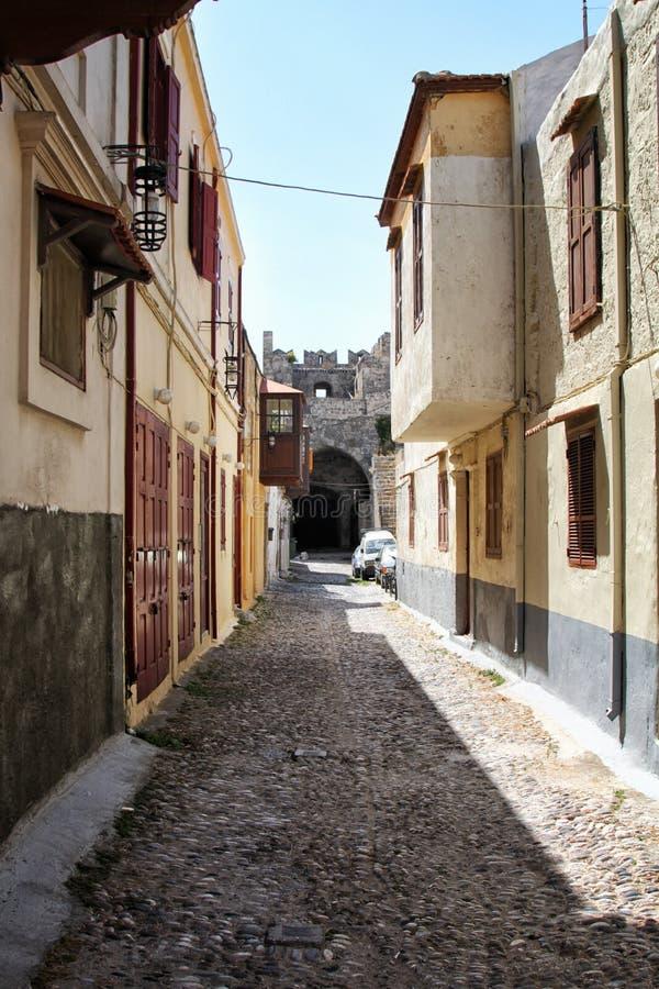 希腊建筑学 免版税库存照片