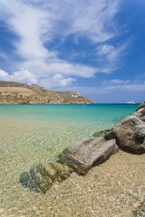 希腊- Mykonos海岛 库存图片