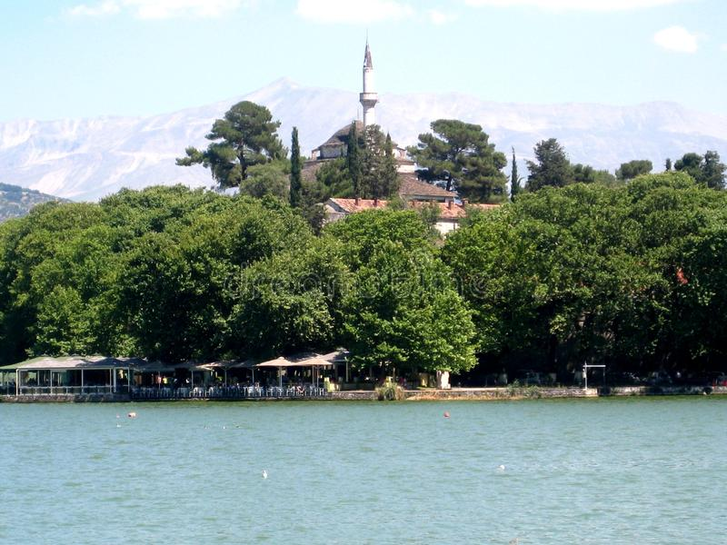 希腊ioannina 库存图片