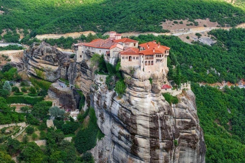 希腊meteora修道院varlaam 免版税库存图片