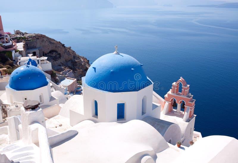希腊santorini 库存图片