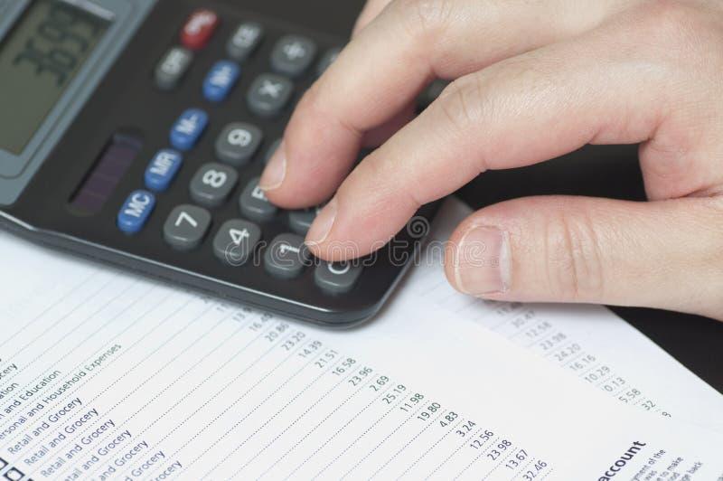 帐户银行管理 免版税图库摄影