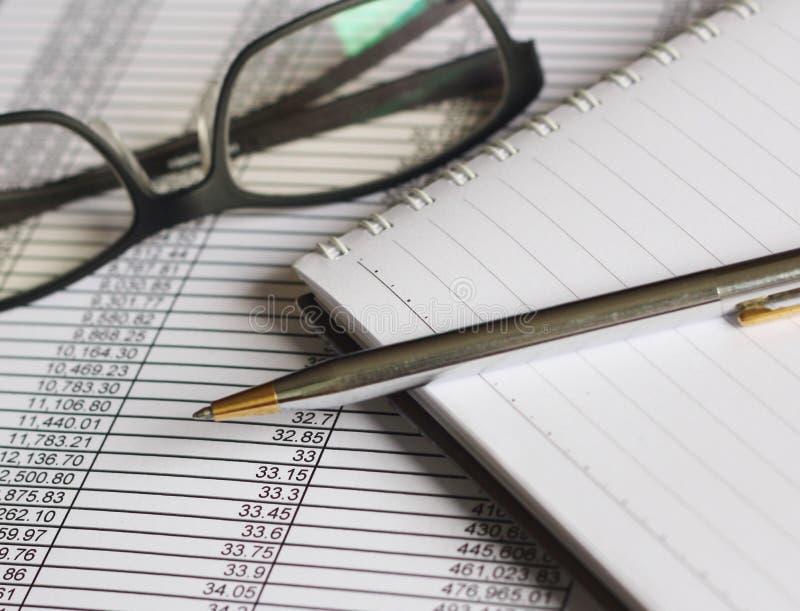 帐户财务 免版税库存照片