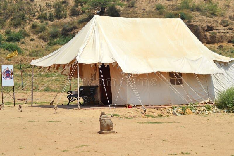 帐篷小屋 免版税库存照片