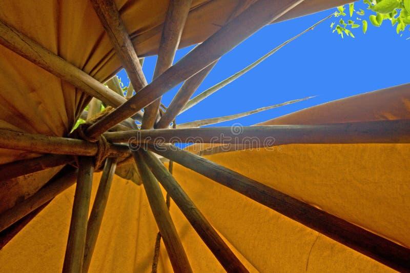 帐篷顶层 图库摄影