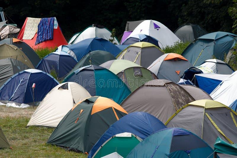 帐篷 图库摄影
