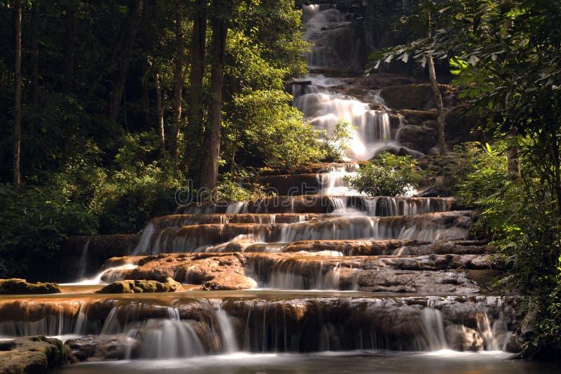 帕乍龙瀑布国家公园 免版税图库摄影