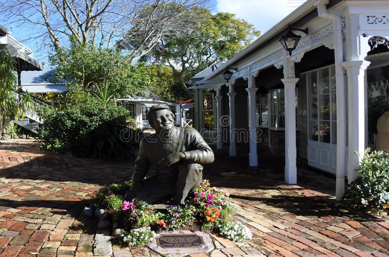 帕内尔村庄在奥克兰新西兰 库存照片