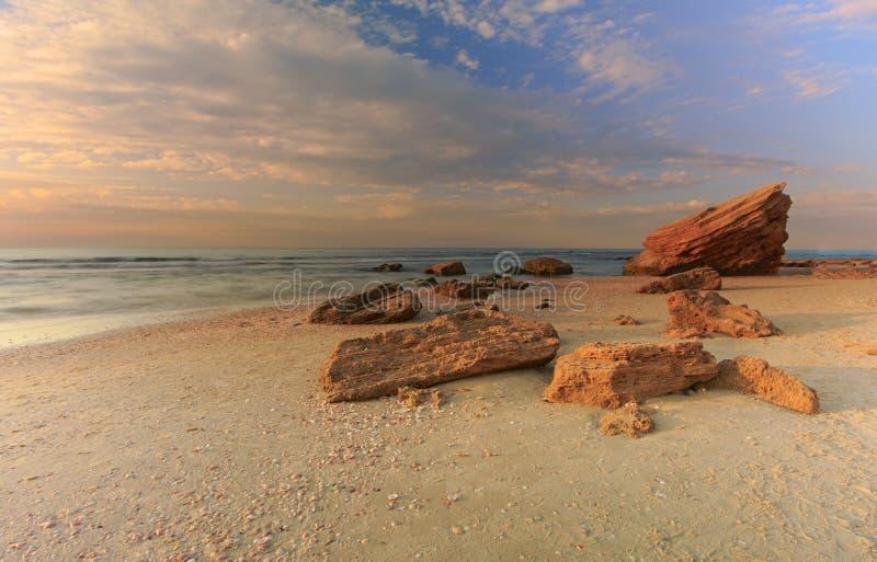 帕勒马希姆海滩 库存图片