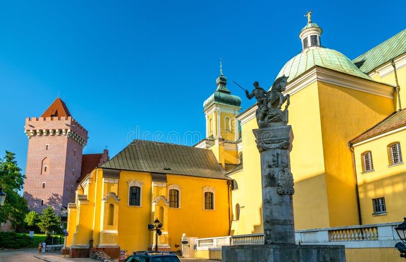 帕多瓦圣安东尼教会在波兹南,波兰 免版税图库摄影
