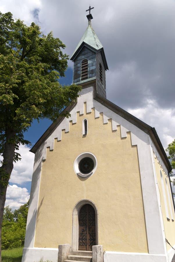 帕尔克斯泰因教会在德国 免版税图库摄影