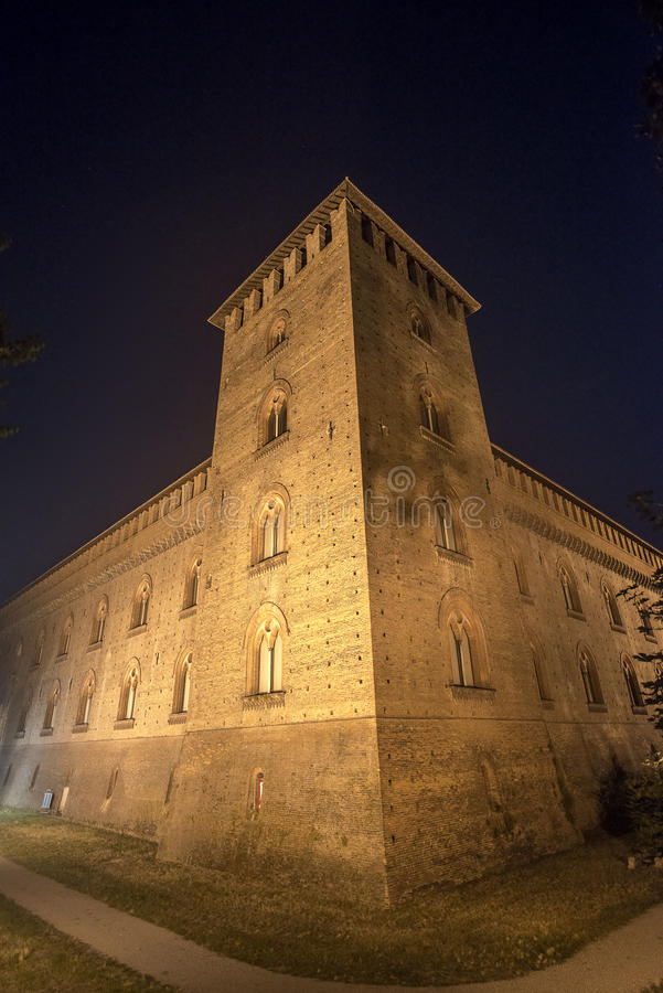 帕尔瓦,城堡 库存照片