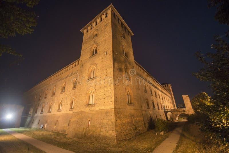 帕尔瓦,城堡 免版税图库摄影