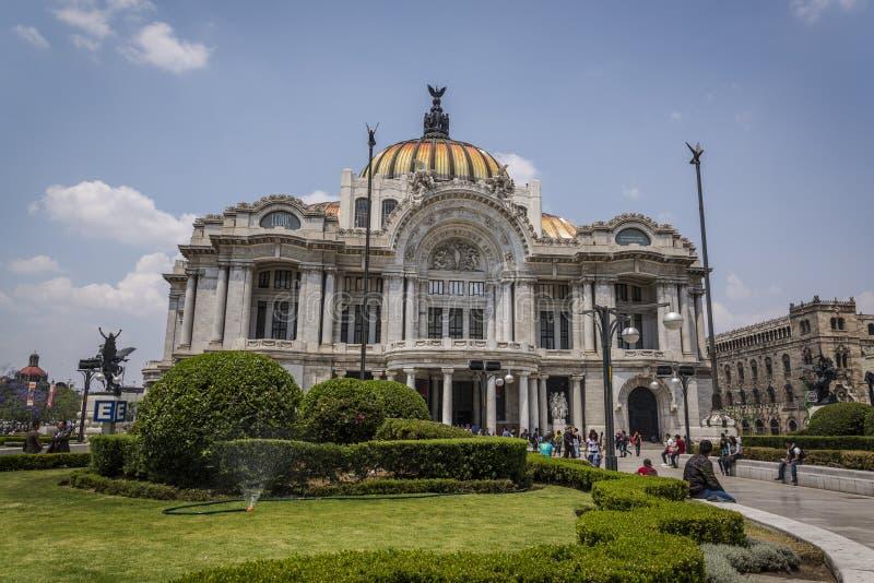 帕拉西奥de贝拉斯阿特斯,墨西哥城,墨西哥 库存图片