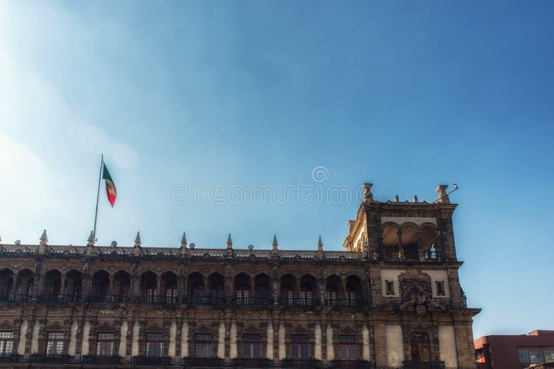帕拉西奥Nacional全国宫殿,墨西哥城 库存照片