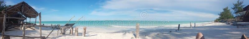 帕杰海滩 免版税库存照片