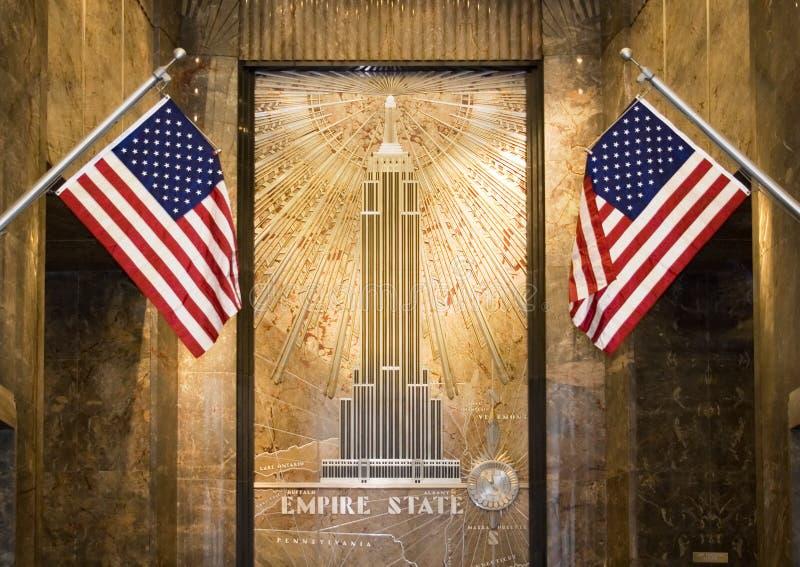 帝国大厅状态 免版税库存图片