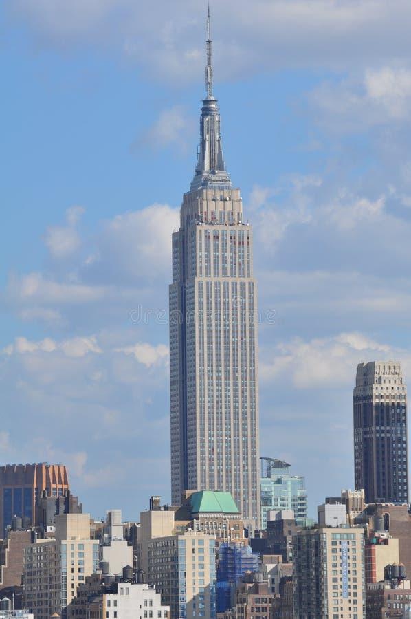 帝国大厦在纽约 免版税库存图片