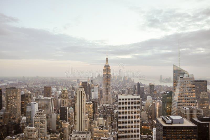 帝国大厦,曼哈顿,纽约城 库存照片
