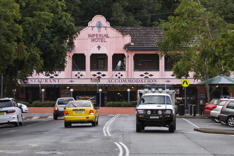 帝国饭店, Murwillumbah,澳大利亚 图库摄影