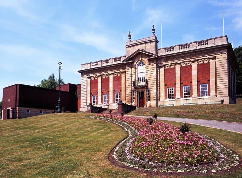 带位者画廊,林肯,英国。 免版税图库摄影
