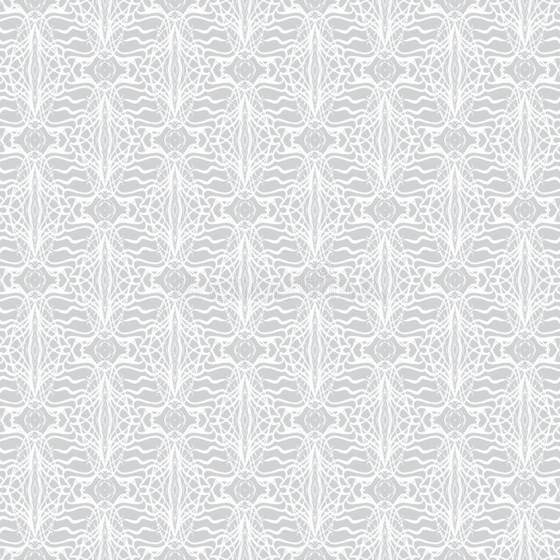 系带在艺术装饰样式的几何装饰品 库存例证