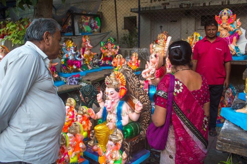 带来在家Ganesha 免版税图库摄影