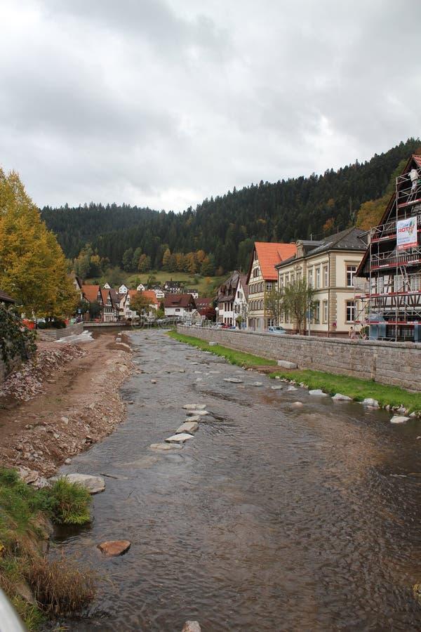 席尔塔,黑森林,德国 库存照片