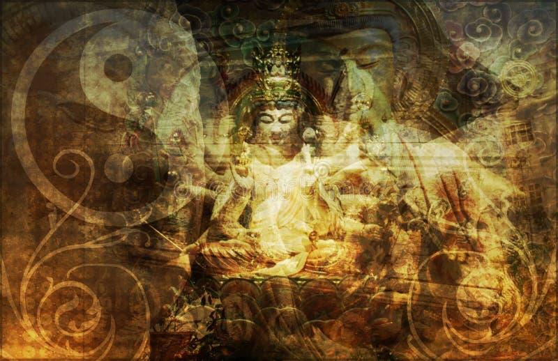 帮会宗教信仰秘密社团 皇族释放例证