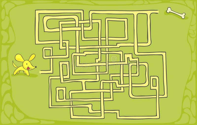 迷宫-迷宫 向量例证