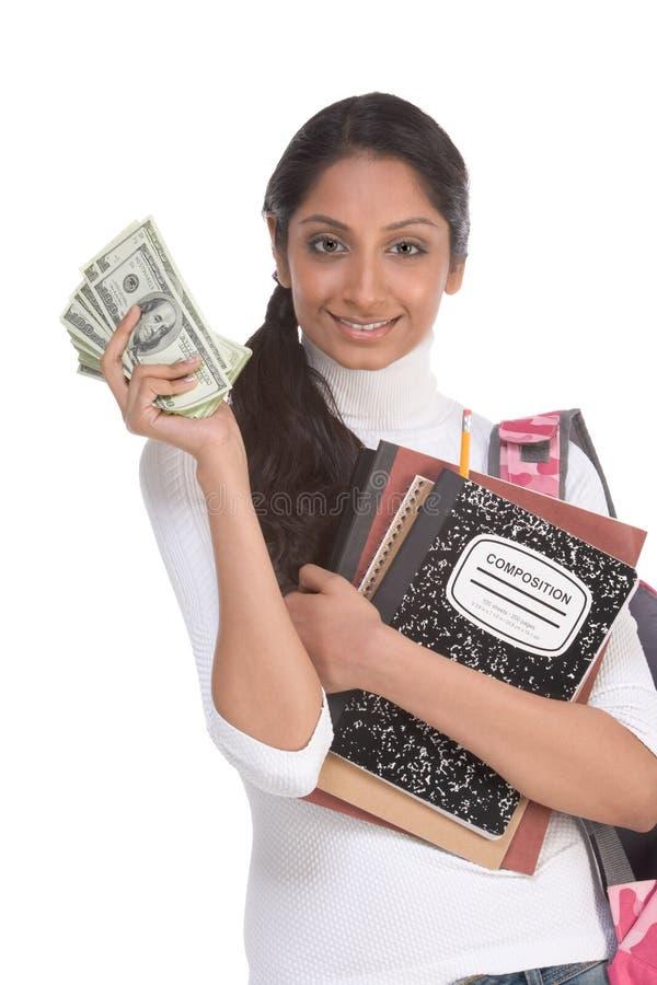 帮助费用教育财务贷款学员 免版税库存图片