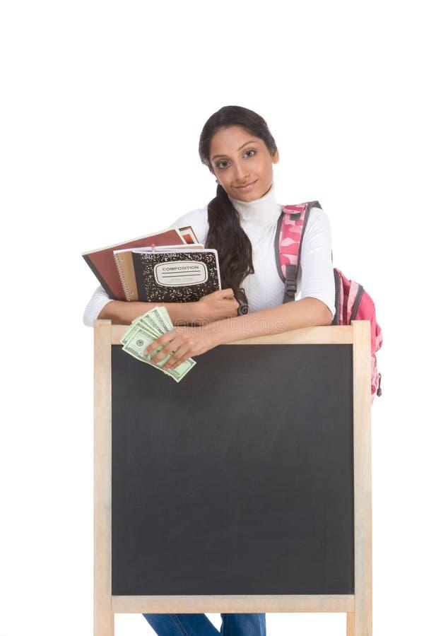 帮助费用教育财务贷款学员 图库摄影